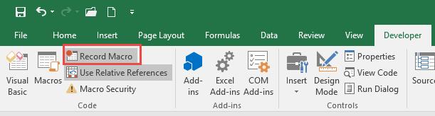 Excel Macro Tools