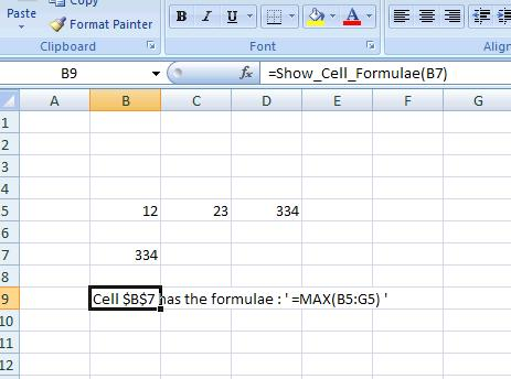 139 show cell formulae part 2