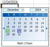 calendar add-in