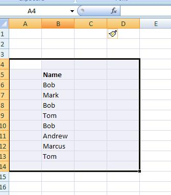Excel Creating Unique Identifiers