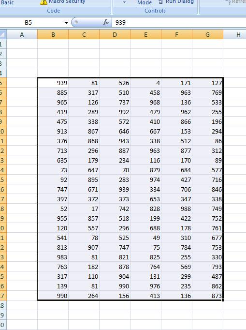 Find the Maximum Value For Each Column in a Range - VBA Code ...