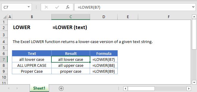 Lower-Main-Function