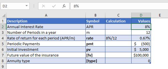 nper function example 2 data