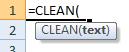 clean formula syntax