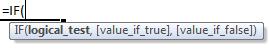 if formula syntax