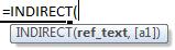 indirect formula syntax