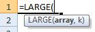 large formula syntax