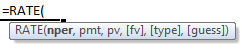 rate formula syntax