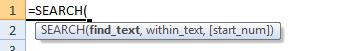 search formula syntax