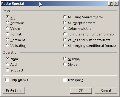 VBA Value Paste & PasteSpecial - Automate Excel