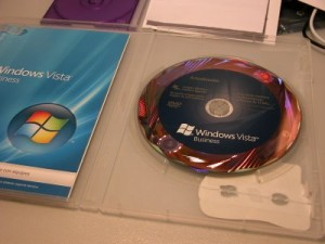 Windows Vista DVD