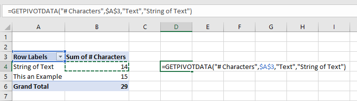 most used excel function getpivotdata