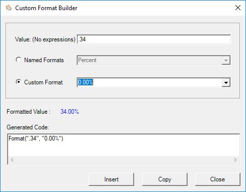 vba format writer