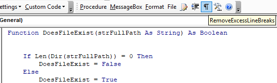 vba coding tool