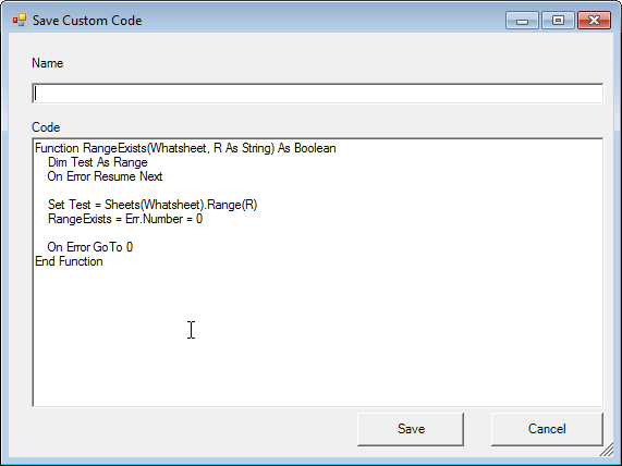 save vba code example