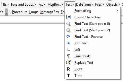 vba other code library examples