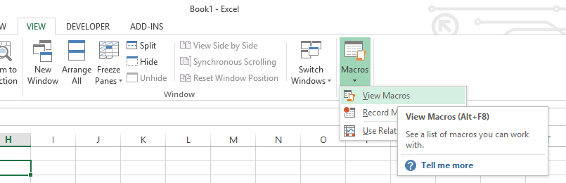 Add a Button and Assign a Macro in Excel - Automate Excel