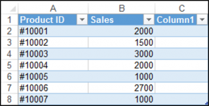 Adding a Column to a Table in Excel Using VBA