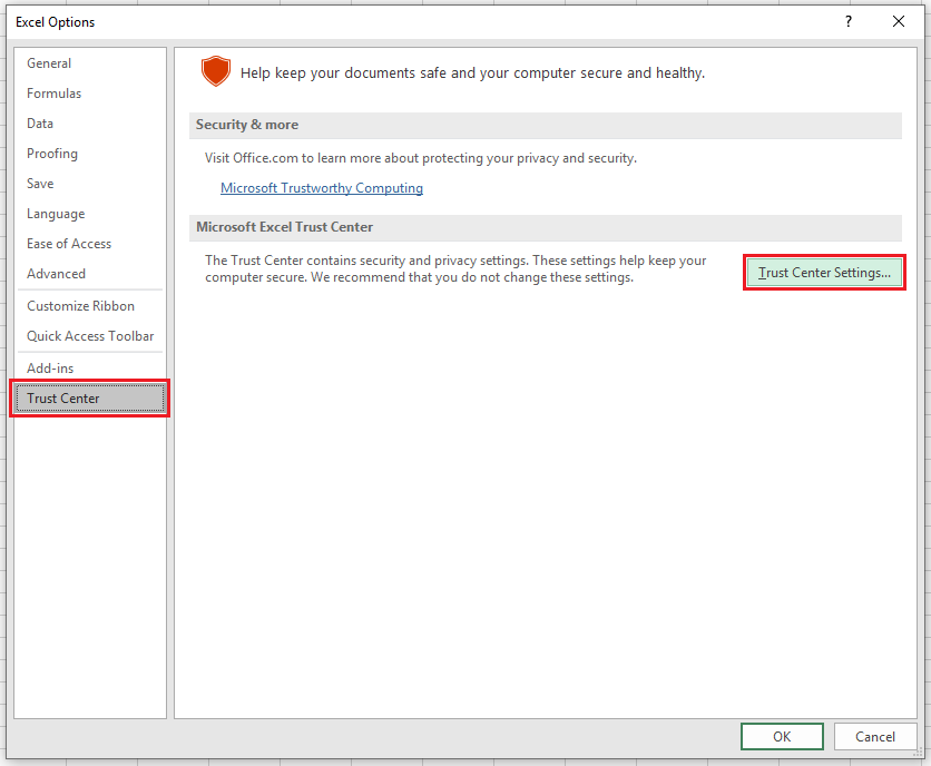 Excel Macros Disabled? - How to Enable Macros - Automate Excel