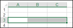 Selecting a Row in a Range Object