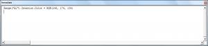Testing Lines of Code Using the Immediate Window in VBA