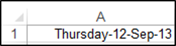 User Defined Custom Date Formatting