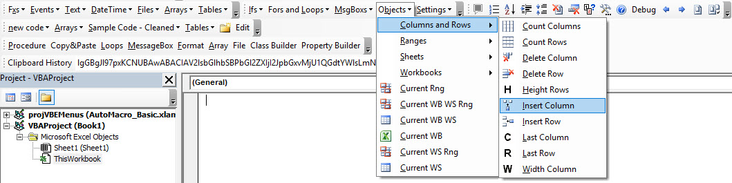 VBA Code Examples Add-in - Free Download for Excel