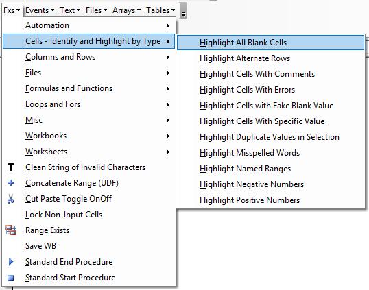 vba code examples fxs