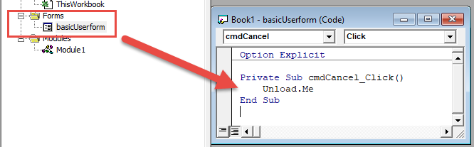 VBA Open or Close UserForm - Automate Excel