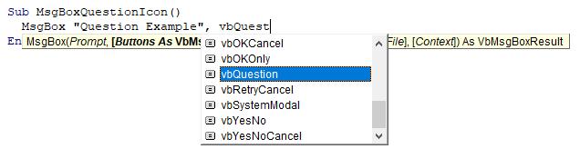 vba msgbox syntax
