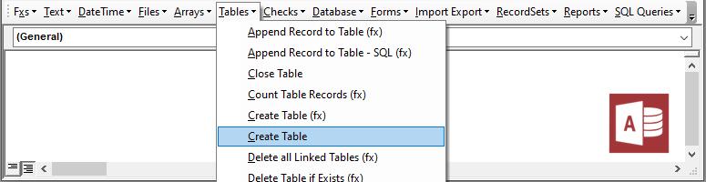 access vba code library