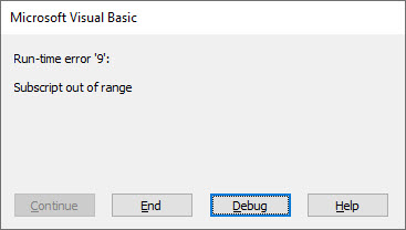 vba set array value