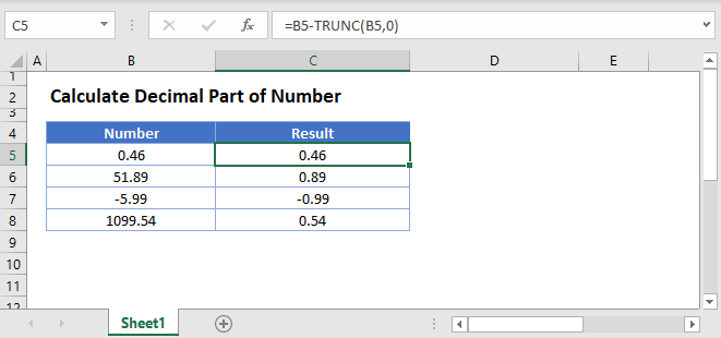 Calculate Decimal Main
