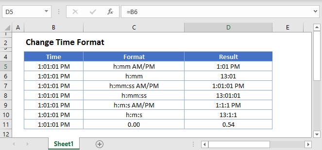 Change Date Format Main