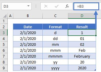 DMY Format