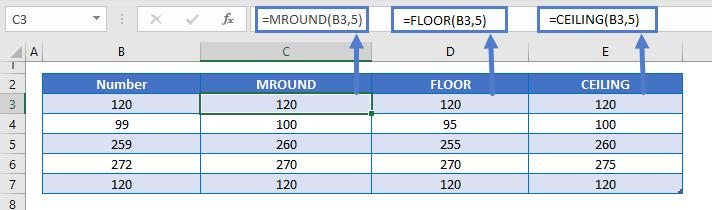 Mround Floor CEILING