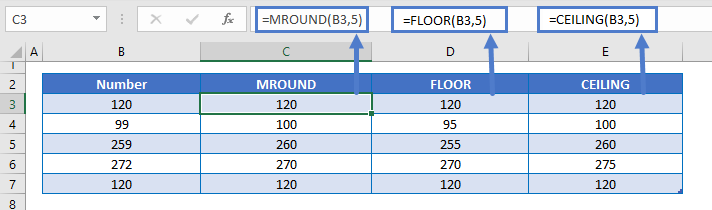 Mround Floor CEILING