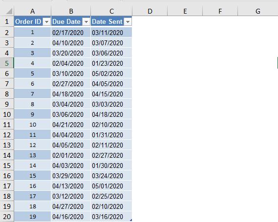 conditional format range title