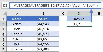 Sales OR Combine
