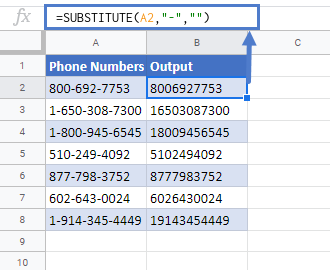Remove Text By Matching In Google Sheets