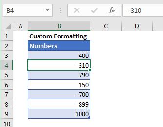 Custom Formatting 1