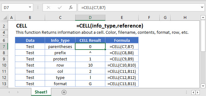 CELL Main Function