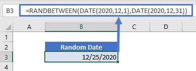 random date generator EX 01