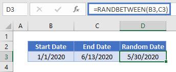random date generator EX 02