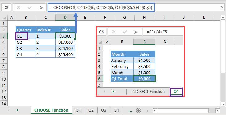 CHOOSE Function EX01