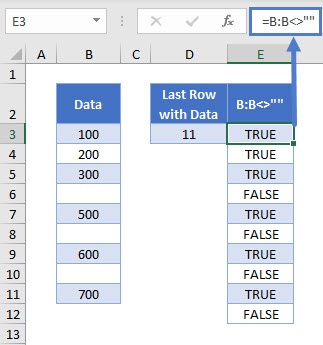 find last row with data 04