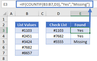 find missing values 01