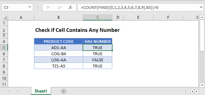 if cell contains any number Main Function