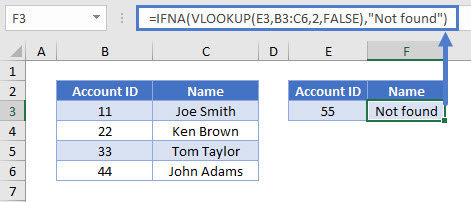 if isna vlookup 1