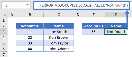 if isna vlookup 3